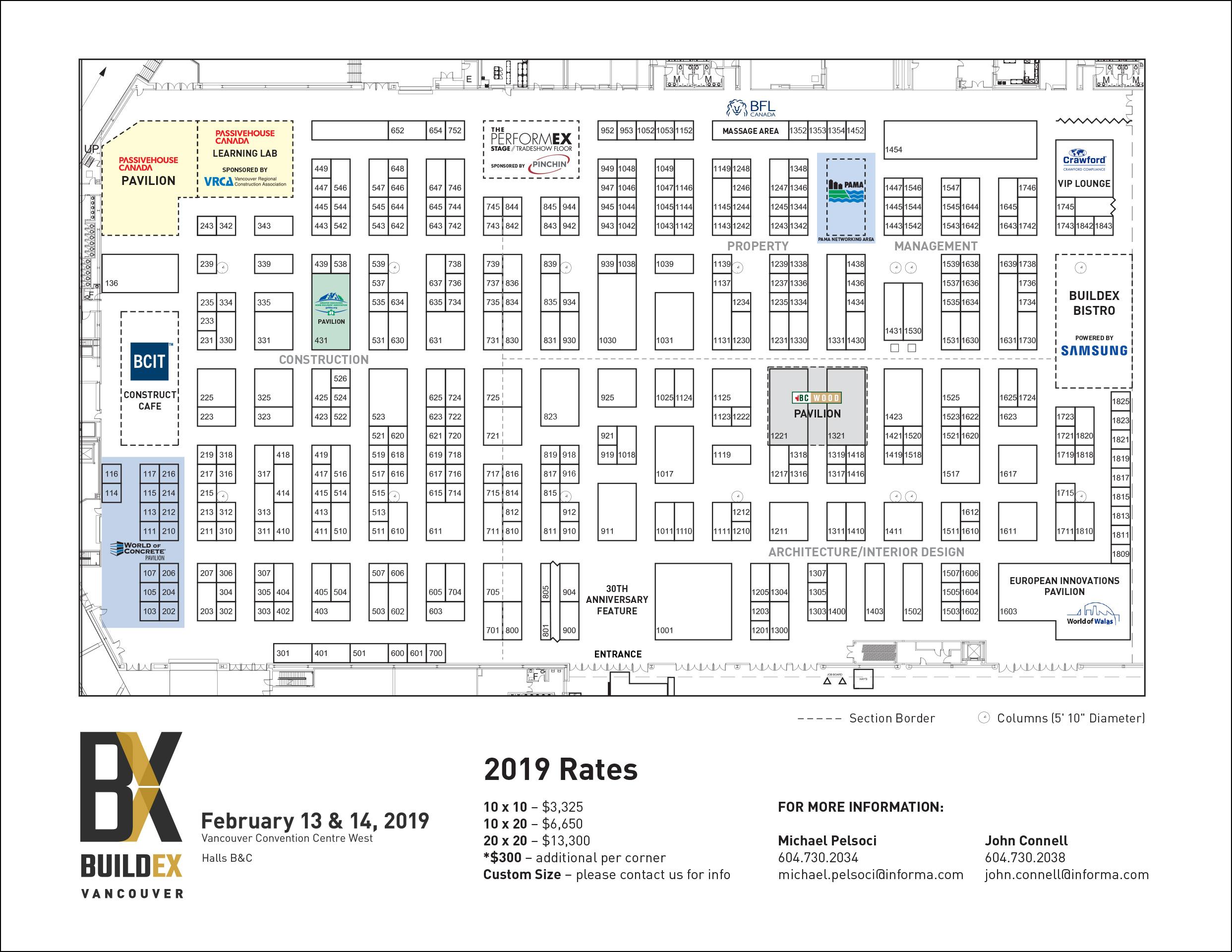 2019 Exhibitor List U0026 Floorplan